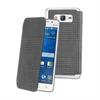 Made In Paris Funda Crystal Folio Gris Prince de Galles Samsung Galaxy A3 Made in Paris