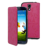 Made In Paris Funda Ultra Slim Folio Rosa con Grabado Samsung I9500 Galaxy S4 Made in Paris