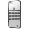 Funda TPU Transparente+Negro Apple iPhone 6/6S Mini
