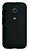 Carcasa Negra con Bumper Negro Moto E Motorola
