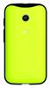 Carcasa Lima con Bumper Negro Moto E Motorola