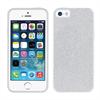 Muvit Life Funda Tpu Plata Bling Glitter Apple iPhone 5/5S/SE muvit life