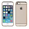 Muvit Life Funda Tpu marco Dorado con cristales Diam Apple iPhone 5/5S/SE muvit life