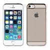 Muvit Life Funda Tpu marco Plata con cristales Diam Apple iPhone 5/5/SE muvit life