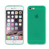 Muvit Life Funda Turquesa Transparente Ultrafina Fever 0.3mm Apple iPhone 7 muvit Life