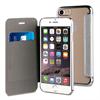 Muvit Life Funda Transparente BLING FOLIO Plata con marco Plata Apple iPhone 7 muvit Life