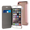 Muvit Life Funda Transparente BLING FOLIO Rose Gold con marco Rose Gold Apple iPhone 7 muvit Life