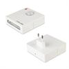 Transformador USB 1A Blanco + Luz emergencia y piloto noche extraíble Muvit