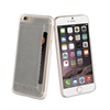 Muvit Carcasa Transparente + Tarjetero Gris Apple iPhone 6 muvit