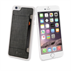 Muvit Carcasa Transparente + Tarjetero Negro Apple iPhone 6 muvit