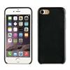 Muvit Carcasa Negra Ultrafina Tacto Piel Apple iPhone 7 muvit