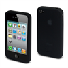 Funda Silicona Negra Apple iPhone 4/4S Muvit
