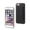 Muvit Carcasa Ultrafina + Tarjetero horizontal Negra Apple iPhone 7 muvit