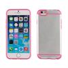 Muvit Carcasa Cristal Transparente Frame Rosa Apple iPhone 6 muvit