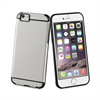 Muvit Carcasa Cristal Transparente Frame Negra Apple iPhone 6 muvit