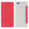 Muvit Funda Folio Rosa parte Trasera Transparente Huawei P9 Lite muvit