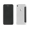 Muvit Funda Folio Negra parte Trasera Transparente Apple iPhone 7/6S/6 muvit