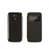 Funda negra con ventana Samsung I9190 Galaxy S4 Mini Muvit