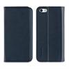 Muvit Funda Folio Stand Azul Oscuro Función Soporte y Tarjetero iPhone SE muvit