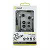 Muvit Auricular Stereo Negro/Plata 3,5 mm Universal(con micrófono y control de audio) muvit