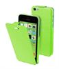 Funda iFlip Verde + Protector Pantalla iPhone 5C Muvit
