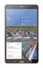 """Set de dos Protectores Pantalla Brillo Samsung Galaxy Tab 4 7"""" Muvit"""