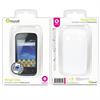 Funda Minigel Blanca Samsung S5660 Gio Muvit