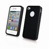 Funda Minigel Negra Apple iPhone 4/4S Muvit