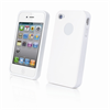 Funda Minigel Blanca Apple iPhone 4/4S Muvit