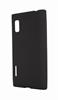 Funda Minigel Negra LG OptimusL5 E610 Muvit