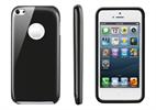 Funda Minigel Negra Apple iPhone Low Cost Muvit