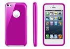 Funda Minigel Rosa Apple iPhone Low Cost Muvit