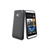 Funda Minigel negra HTC One Muvit