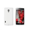 Funda Minigel Blanca LG Optimus L7 II P710 Muvit