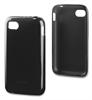 Funda Minigel Negra BlackberryQ5 Muvit