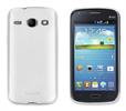 Funda Minigel Blanca Samsung Galaxy Core I8260 Muvit