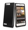 Funda Minigel Negra Humo Huawei Ascend G6 Muvit
