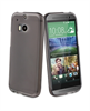 Funda Minigel Negra Humo HTC One M8 Muvit