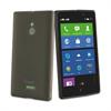 Funda Minigel Negra Humo Nokia XL Muvit