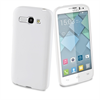 Funda Minigel Blanca Alcatel Pop C9 Muvit