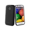 Funda Minigel Negra Motorola Moto E Muvit