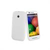 Funda Minigel Blanca Motorola Moto E Muvit