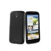 Funda Minigel Negra Huawei G610 Muvit