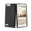 Funda Minigel Negra Humo Huawei Ascend G6 4G Muvit
