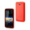 Muvit Funda Minigel Roja Vodafone Smart 4 muvit