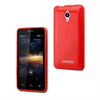 Muvit Funda Minigel Roja Vodafone Smart 4 Turbo muvit