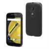 Muvit Funda Minigel Negra Humo Motorola Moto E 4G muvit