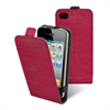 Funda Slim Croco Fucsia Apple iPhone 4S/4 + Protector Pantalla Made in Paris - Muvit