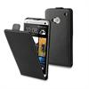 Funda Slim negra + protector de pantalla HTC One Muvit