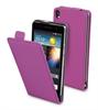 Funda Slim Lila + Protector Pantalla Huawei Ascend P6 Muvit